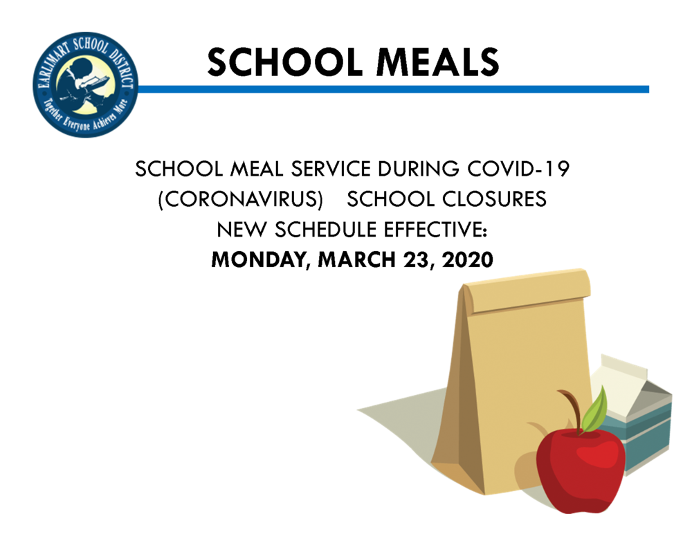 Changes to school meal distribution