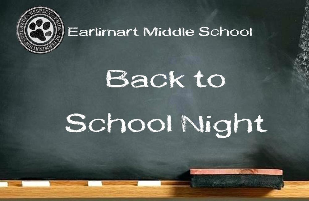 Back to School Night as EMS