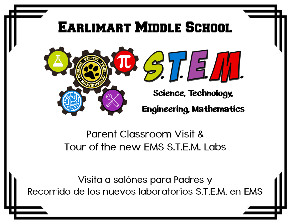 Parent Classroom Visits & STEM Lab Tour