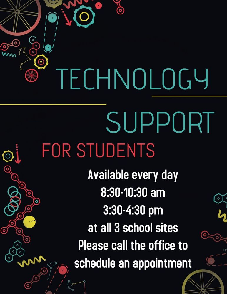Technology Support for students and parents