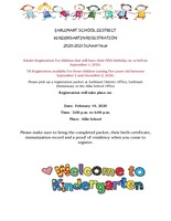 Alila Kindergarten Registration